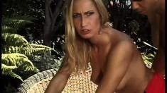 Attractive woman Sophie Evans demands hardcore booty fucking