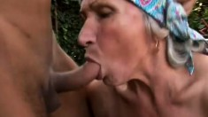 Hoochie mama gets her freak on with a younger man's eager cock