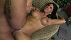 Milf Kendra Secrets enjoys a deep drilling and gets a mouthful of cum