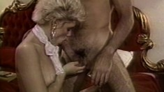 Lustful blonde in white lingerie Jeanna Fine gets nailed by Buddy Love