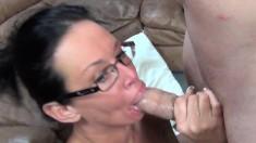 Big breasted sluts Sara Vandella and Tory Lane share a throbbing dick