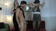 Lustful boy Lance Hart gets dominated by Vanessa Vixon and Cory Chase