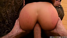 James Deen knows where to find the sweet anal candy of Aleksa