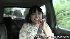 Beautiful Asian babe with a captivating smile Emi wants to satisfy her sexual urges