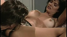 Dreamy brunette Jenna Tallbot gets fucked by a monstrous dong
