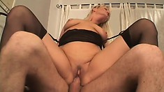 Randy MILF Erica Moore could ride this big cock all day long