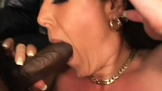 Angelica Lauren gets loud and nasty as she takes some rough dicking