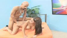 Angel Cummings is good at getting on top and fucking a guy's brains out
