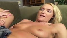 Sexy Blonde Jordan Styles Gets Her Tight Rosebud Probed By Steven French's Stiff Rod