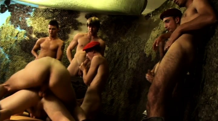 Fucking Orgy For 5 Horny Twinks