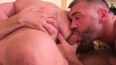 Horny Hunky Dudes Love To Wrestle And Have Ass-plowing Action