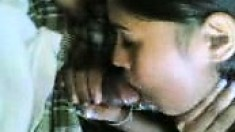 Amateur Indian Girl Gets An Enormous Facial