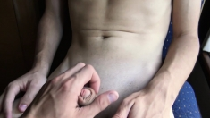 LatinMilk - Latin Boy Gets to Suck Giant Cock