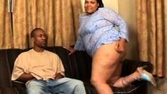 Ebony MILF big booty and boobs