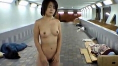 Sexy Japanese Girl Public