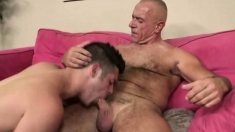 Older Man Suck And Lick So Good, And Then Fuck The Best