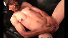 Ripped Hairy White Trash Daddy