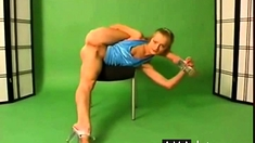 Naked Gymnasts Pisya In Sight